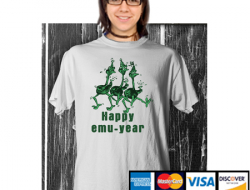 EMU Happy New Year Hoodie