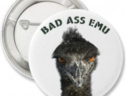 Bad Ass EMU Buttons