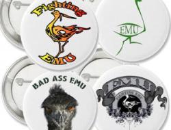 Assorted EMU Buttons
